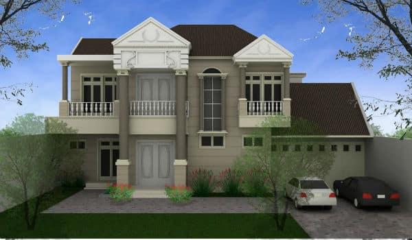 contoh model rumah idaman 1