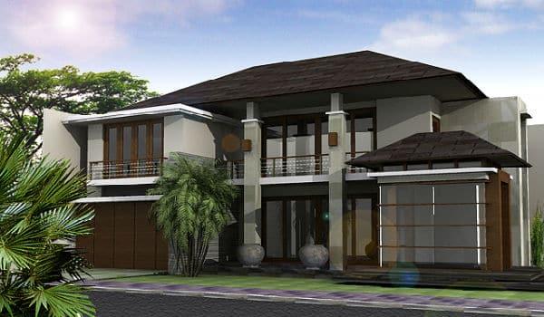 contoh model rumah idaman 2